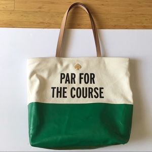 Kate Spade Par For The Course LIMITED tote bag